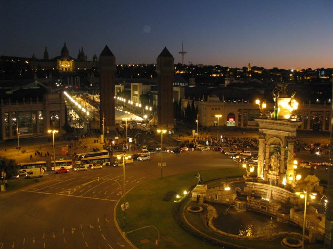 Barcelona - espanya square