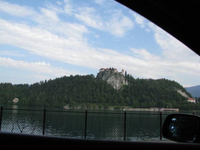 Bled - castle