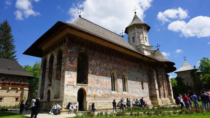 Bucovina - manastirea moldovita
