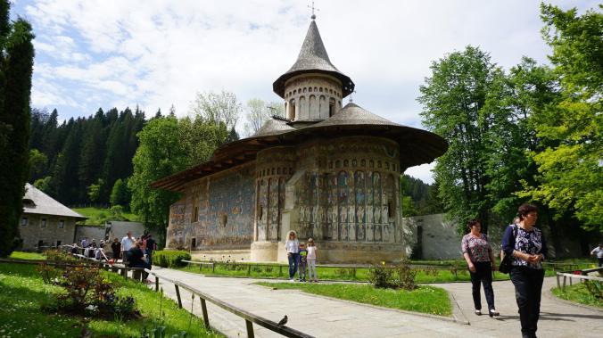 Bucovina - voronet monastery
