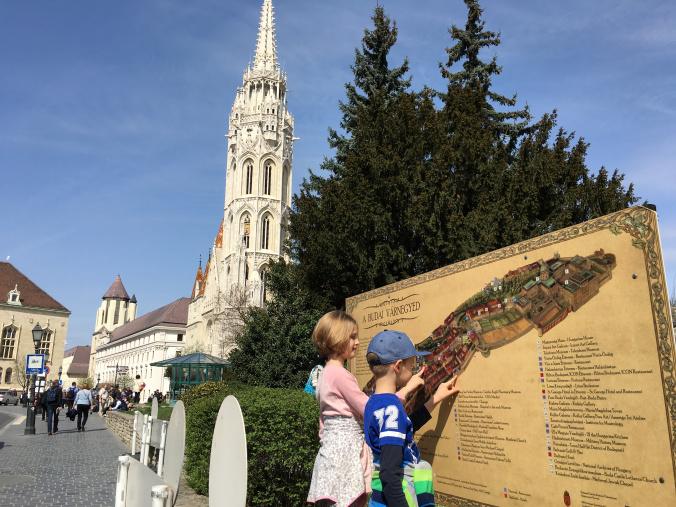 Budapesta - matyas church plan