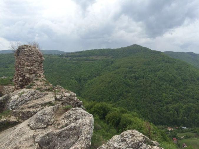 Cetatea Liteni - panorama