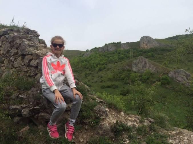 Cetatea Liteni - rocks