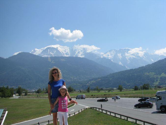 Chamonix Mont-Blanc - view