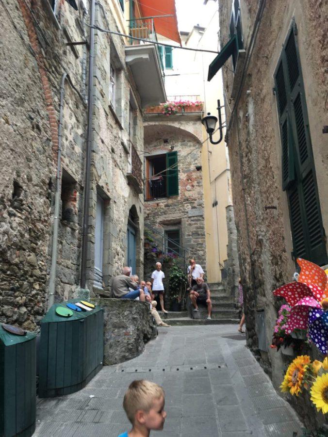 Cinque Terre - corniglia streets