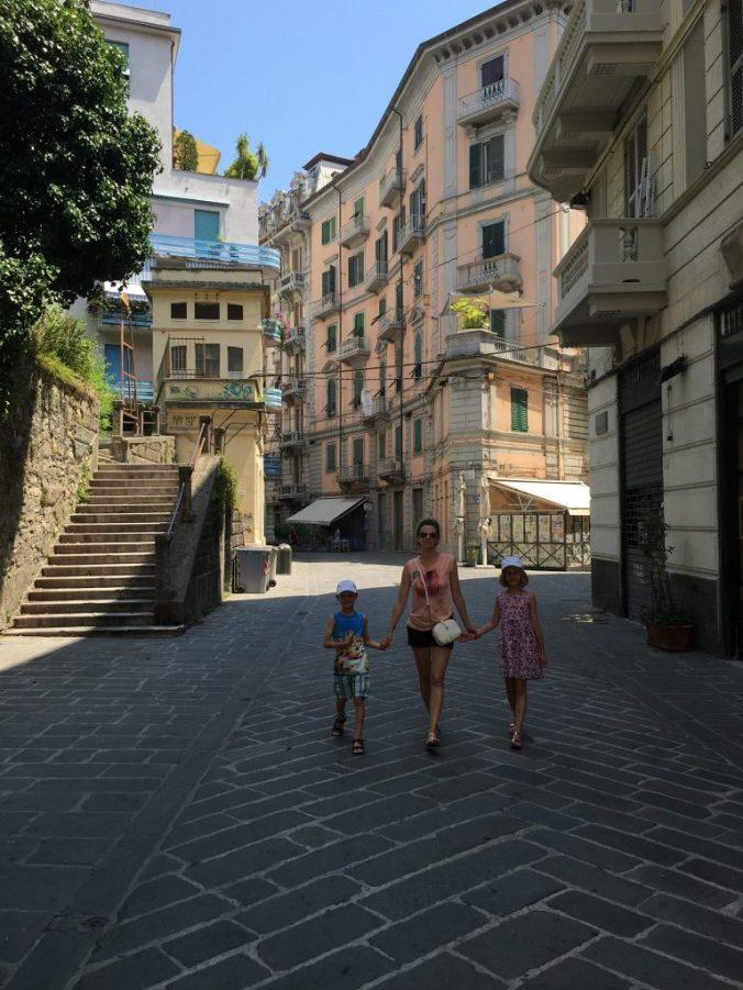 Cinque Terre - spezia streets