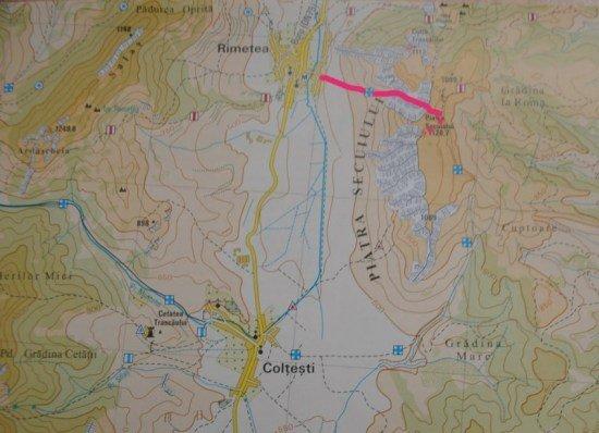 Coltesti - map