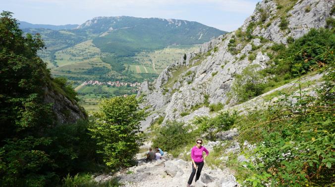 Coltesti - rimetea panoramic view