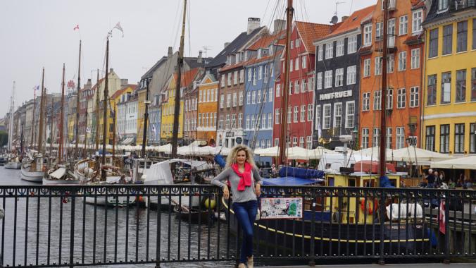 Copenhaga - nyhavn view