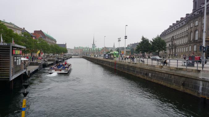 Copenhaga - river