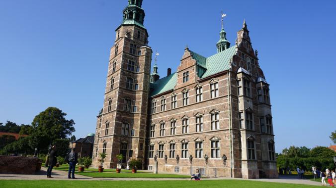Copenhaga - rosenborg castle view