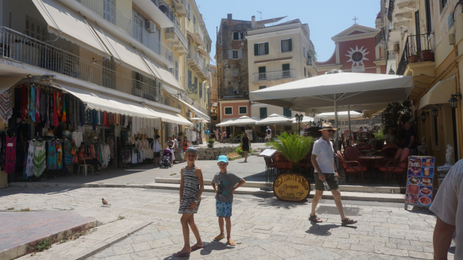 Corfu - old town1