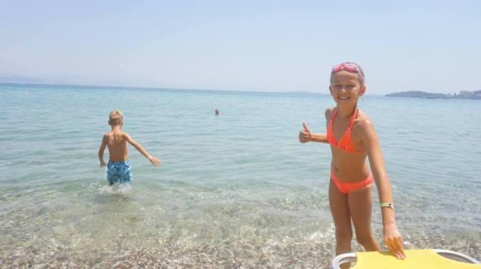 Corfu - swim