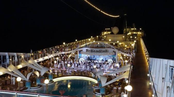 Croaziera pe Mediterana - party