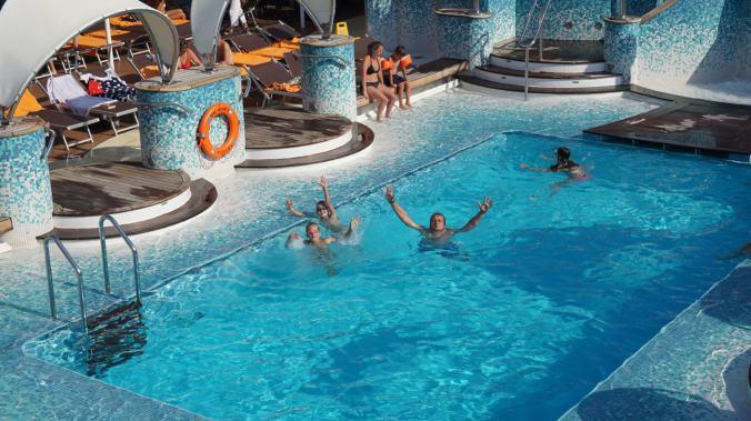 Croaziera pe Mediterana - pools
