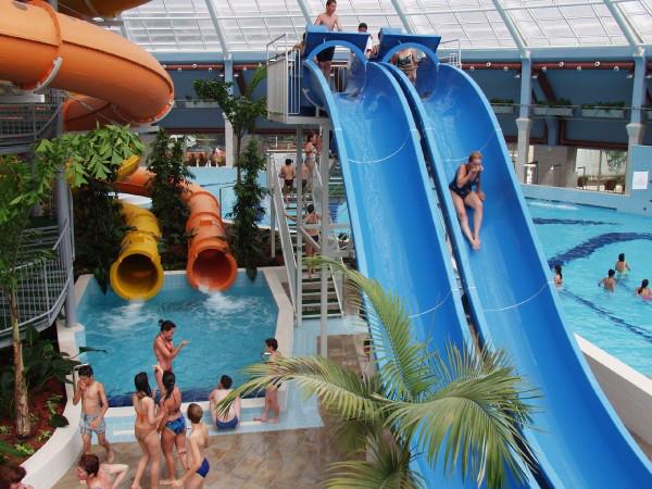 Debrecen Aquaticum - slides