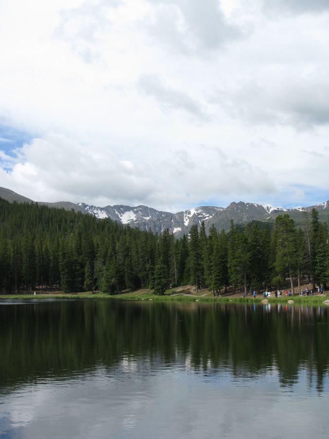 Denver - mount evans lake