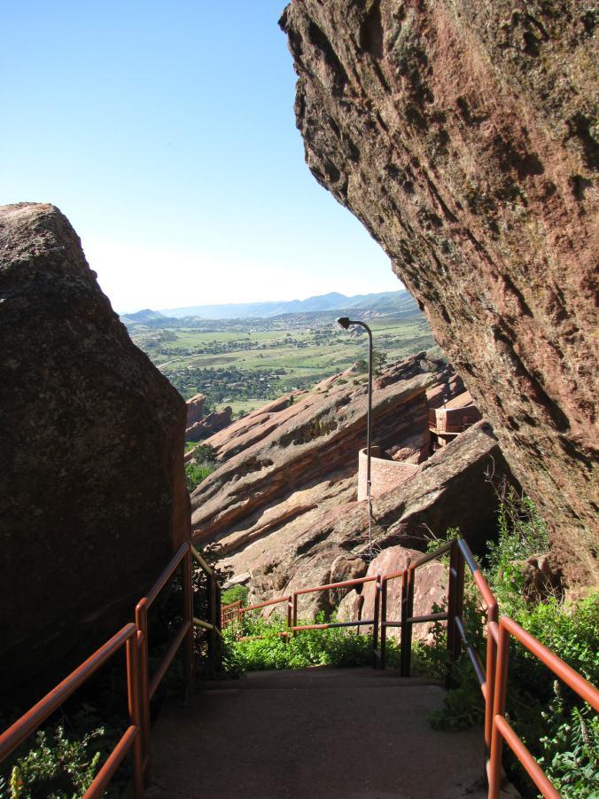 Denver - red rock view