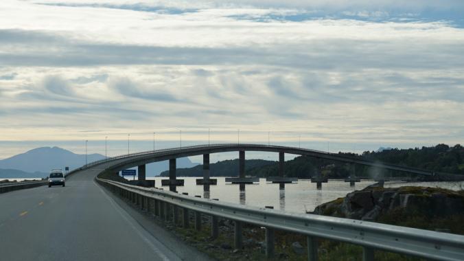Drumul Atlanticului - molde bridge