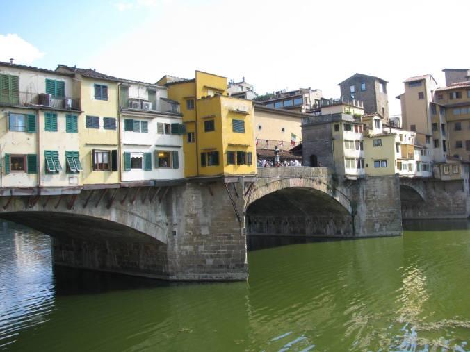 Florenta - ponte vecchio