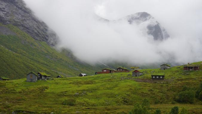 Geiranger - houses