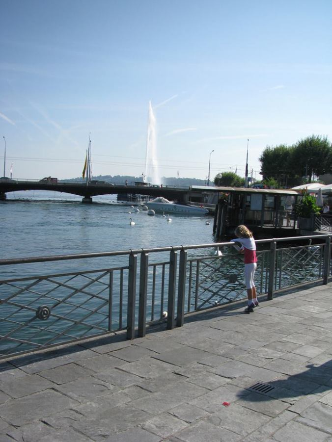 Geneva - jet d'eau