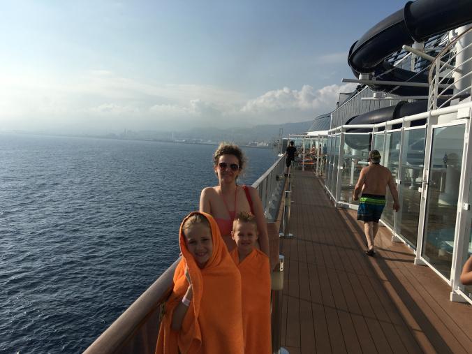 Genova - upper deck