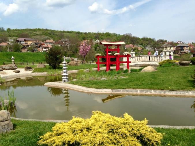 Gradina botanica - Jibou river