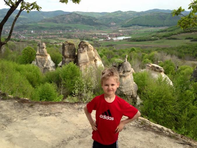 Gradina botanica - gradina zmeilor panoramic view