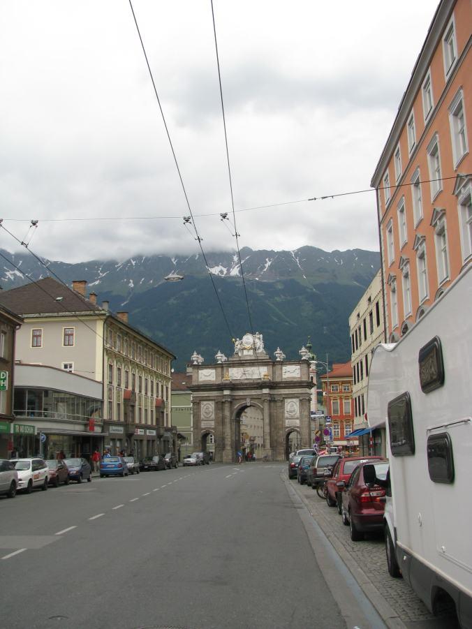 Innsbruck - gate
