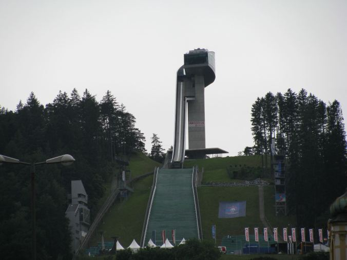 Innsbruck - ski jump platform
