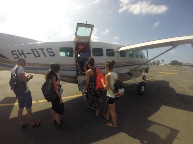 Kilimanjaro - private plane