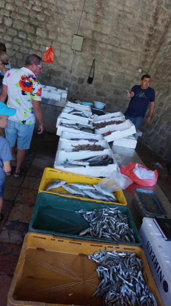 Kotor - fish market
