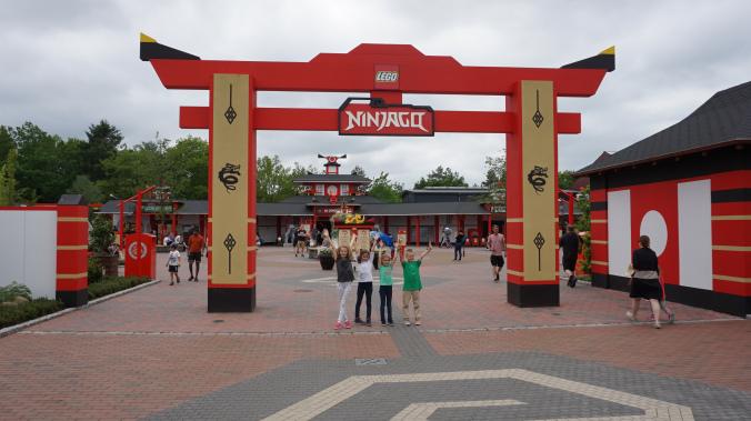 Legoland Danemarca - park attraction ninjago