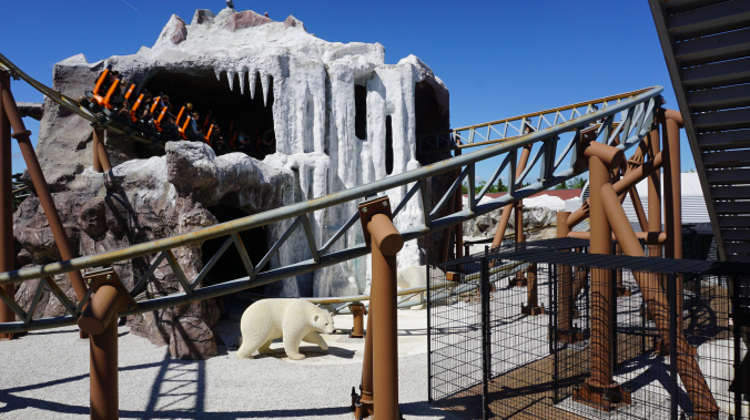 Legoland Danemarca - park attraction polar bear