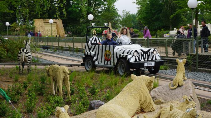Legoland Danemarca - park attraction safari