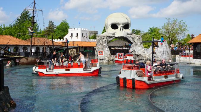 Legoland Danemarca - park boats