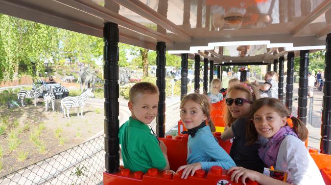 Legoland Danemarca - park train
