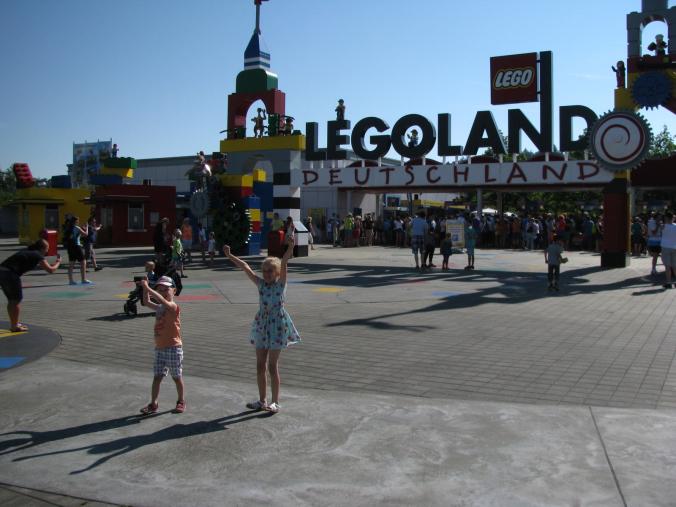 Legoland Germania - entrance