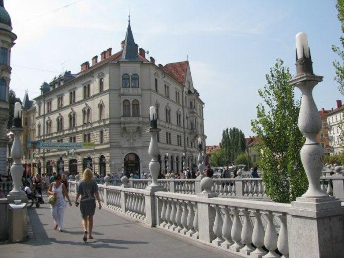 Ljubljana - triple bridge