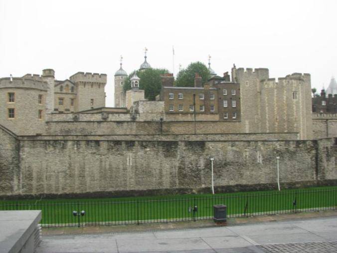 Londra - tower of london view