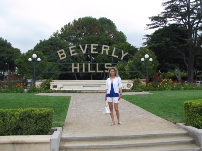 Los Angeles - beverly hills sign