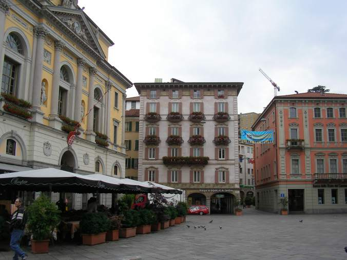 Lugano - downtown