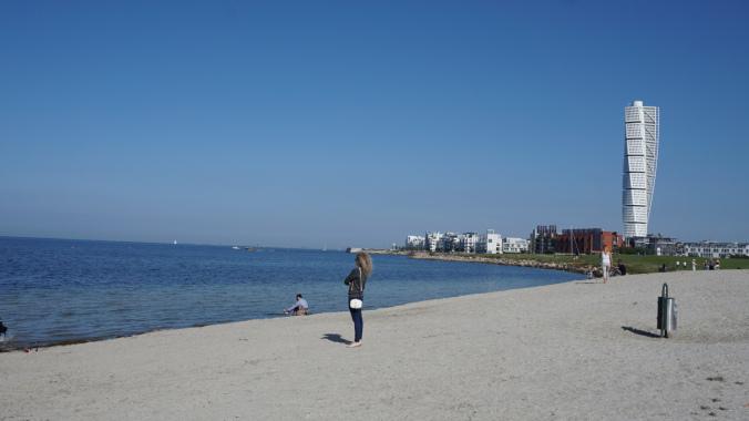 Malmo - beach