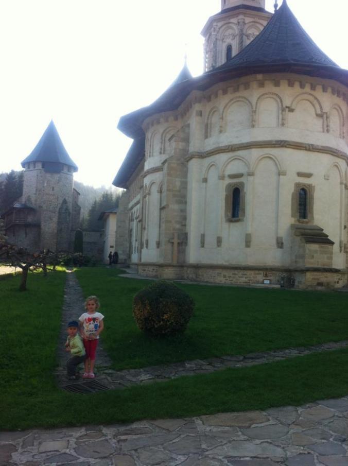 Manastirile din Moldova - putna