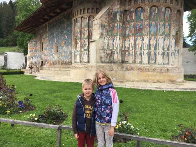 Manastirile din Moldova - voronet