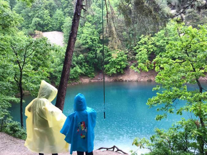 Maramures - blue lake