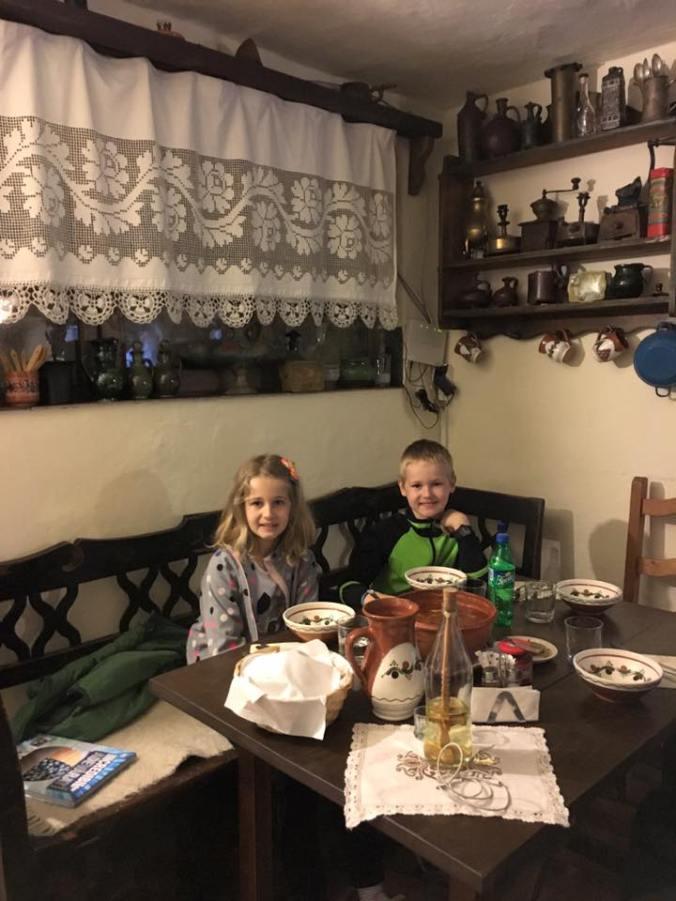 Maramures - casa olarului dinner