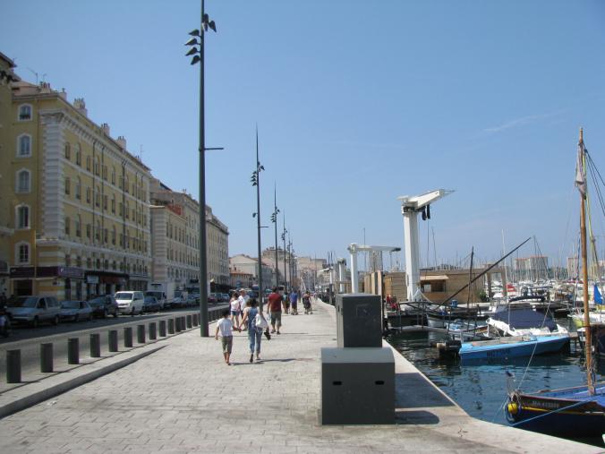 Marsilia - old port boats