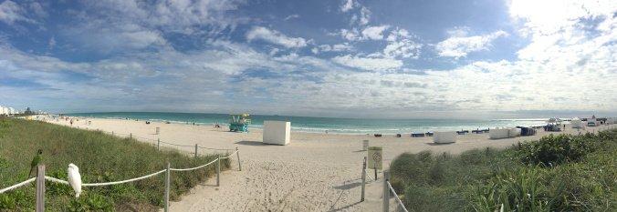 Miami - beach panoramic view